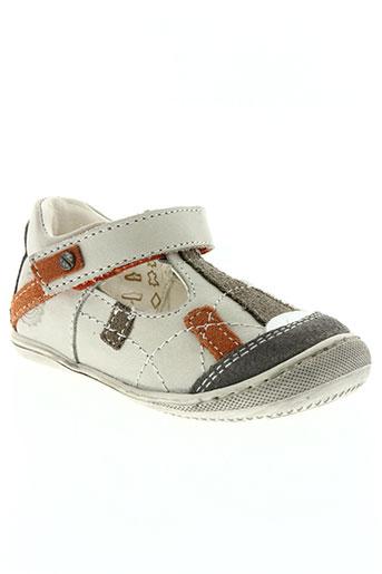 primigi chaussures garçon de couleur blanc