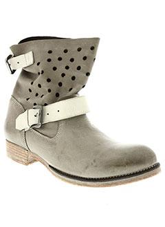 Bottines/Boots beige COCO ET ABRICOT pour femme