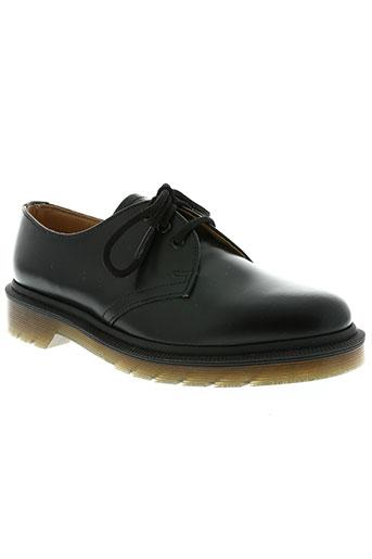 dr martens chaussures homme de couleur noir