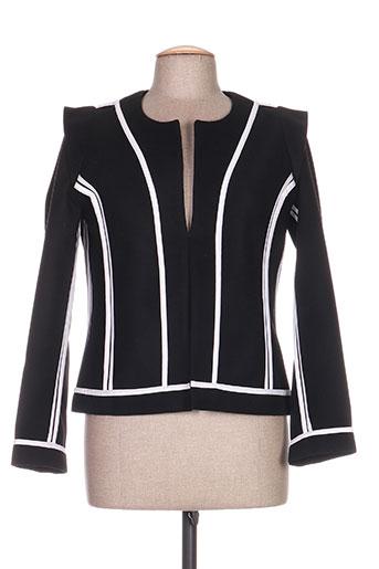 Veste casual noir CLARENCE ET JUDE pour femme