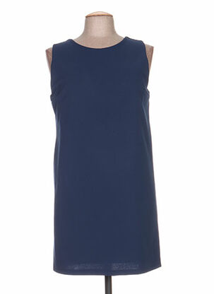 Robe courte bleu CLARENCE ET JUDE pour femme