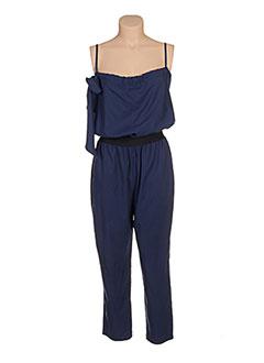 Combi-pantalon bleu CLARENCE ET JUDE pour femme