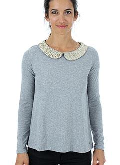 Produit-T-shirts-Femme-DES PETITS HAUTS