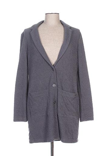 Manteau long gris SANDWICH pour femme
