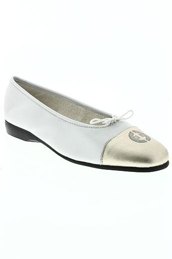 exquise chaussures femme de couleur blanc
