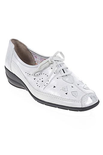 hasley chaussures femme de couleur blanc