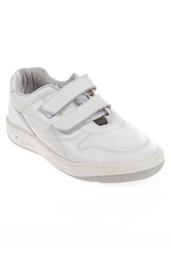 tbs chaussures homme de couleur blanc