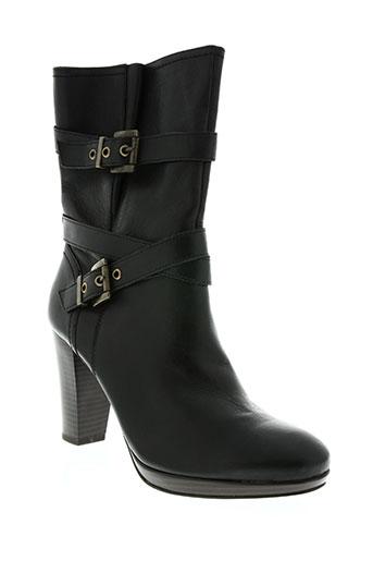 karston chaussures femme de couleur noir