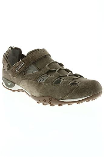 allrounder chaussures homme de couleur beige