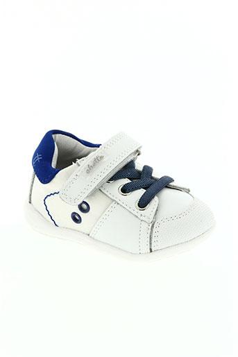 chetto chaussures garçon de couleur blanc