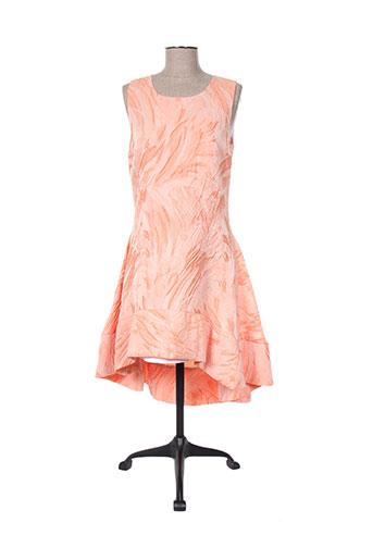 eyedoll robes femme de couleur orange