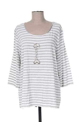 ananke chemises femme de couleur gris