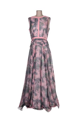 isabel garcia robes femme de couleur rose