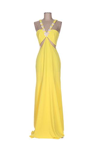 isabel garcia robes femme de couleur jaune