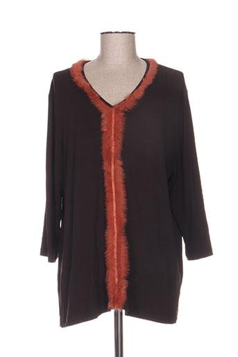hucke woman chemises femme de couleur marron