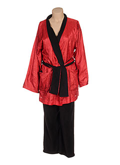 Pyjama rouge REGENCE pour femme