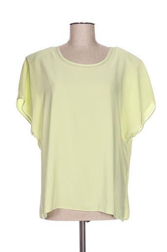 lysa kara chemises femme de couleur vert