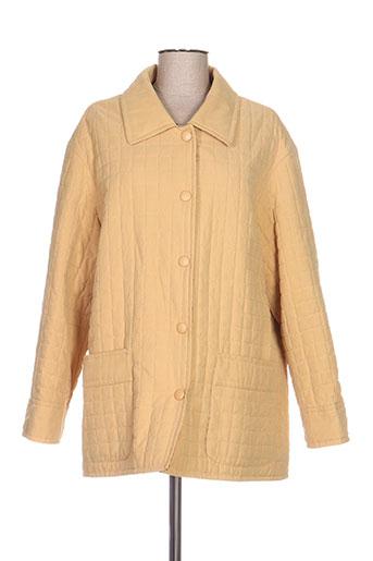 Veste chic / Blazer beige CLAUDE HAVREY pour femme