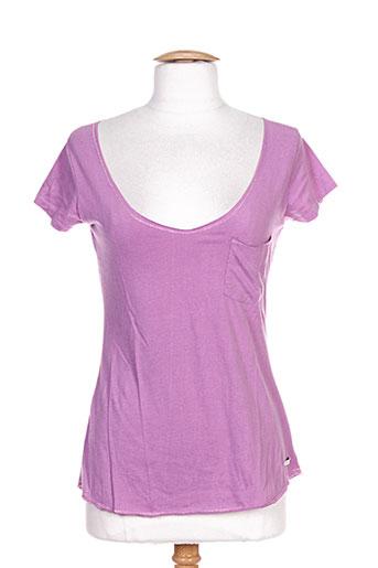 mc gregor chemises femme de couleur violet