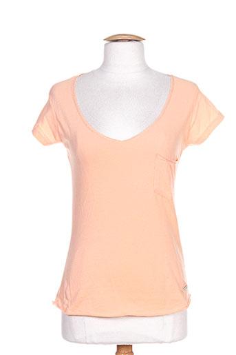mc gregor chemises femme de couleur orange