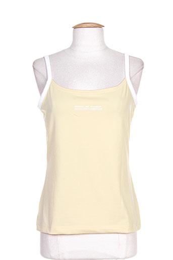 terre de marins chemises femme de couleur jaune