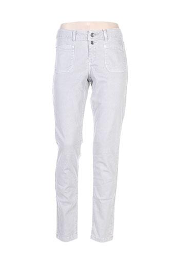 s.oliver jeans femme de couleur gris