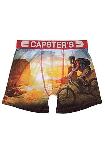 capster's lingerie homme de couleur rouge
