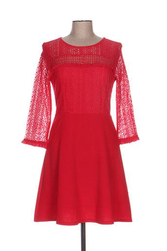 majolica robes femme de couleur rouge
