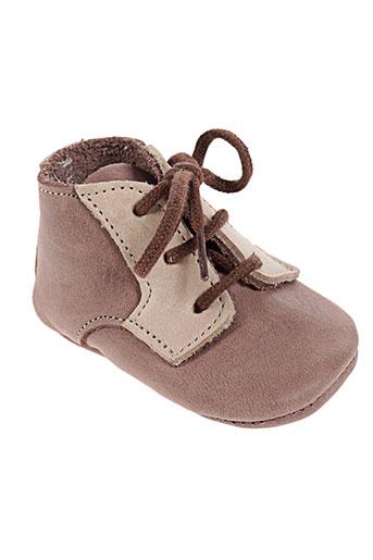 chauss'coeur chaussures enfant de couleur marron
