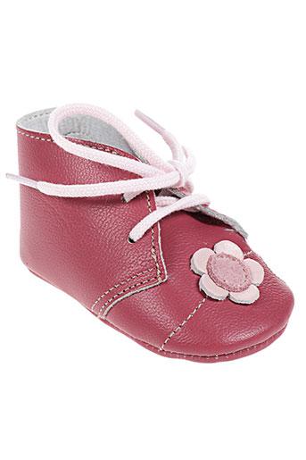 chauss'coeur chaussures enfant de couleur rose