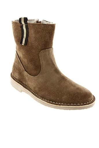 raquel perez chaussures femme de couleur marron