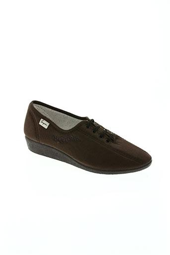 pare gabia chaussures femme de couleur marron