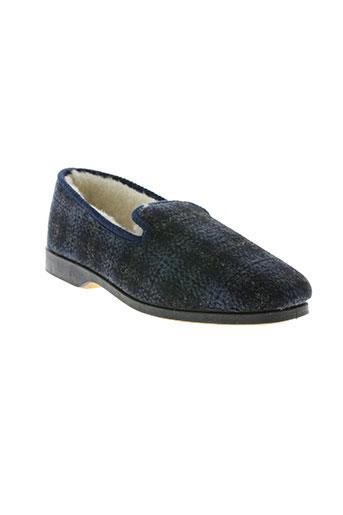 l'ami fritz chaussures homme de couleur bleu