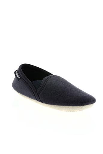 isotoner chaussures enfant de couleur bleu