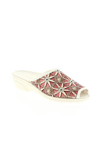 telles qu'elles chaussures femme de couleur rose