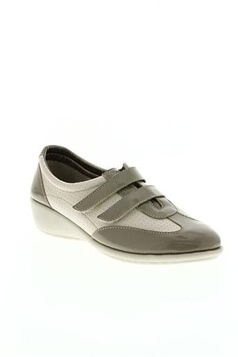telles qu'elles chaussures femme de couleur gris