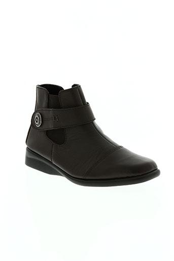 telles qu'elles chaussures femme de couleur marron
