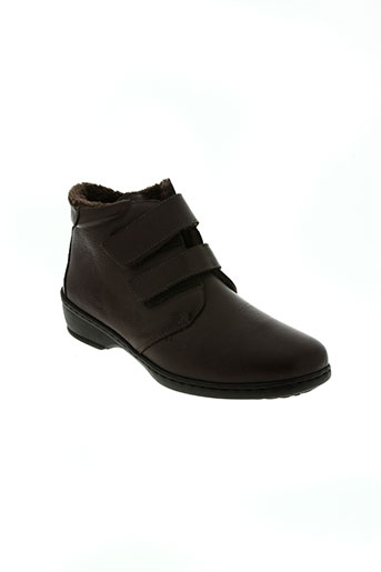 notton chaussures femme de couleur marron