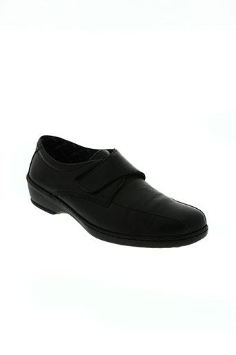 notton chaussures homme de couleur noir