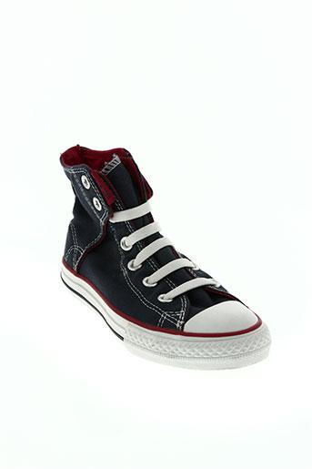 converse chaussures enfant de couleur bleu