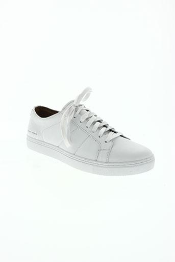 mark nason chaussures homme de couleur blanc