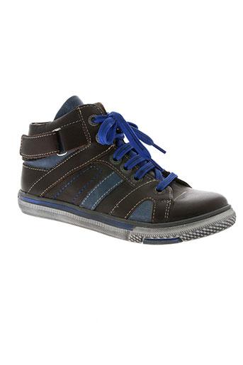 bellamy chaussures garçon de couleur marron