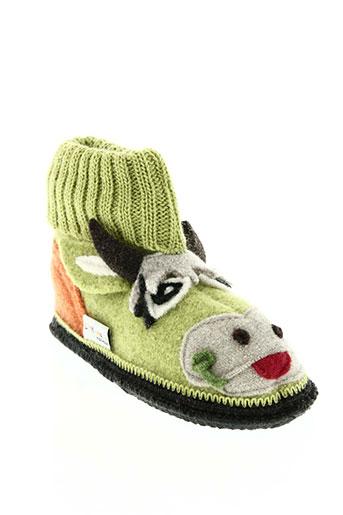 bellamy chaussures garçon de couleur vert