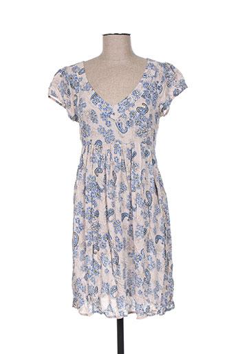 ddp robes femme de couleur bleu