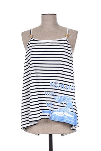 missing johnny chemises femme de couleur bleu