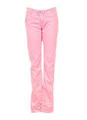 Pantalon casual rose CHIPIE pour fille seconde vue