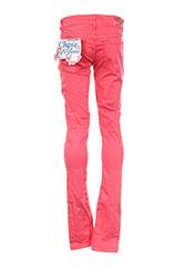 Pantalon casual rouge CHIPIE pour fille seconde vue