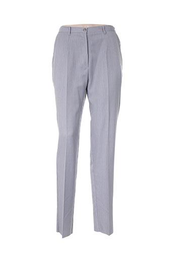 bleu de chine pantalons femme de couleur gris