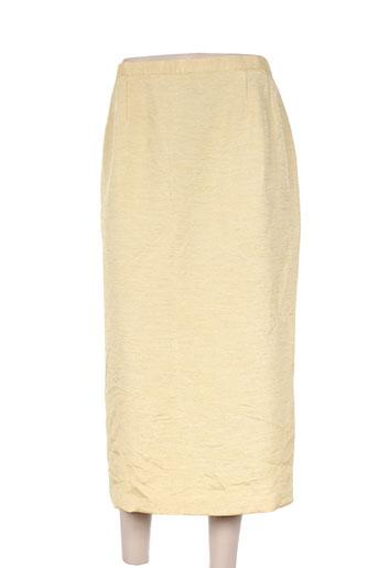 Jupe longue jaune CHARLES LORENS pour femme