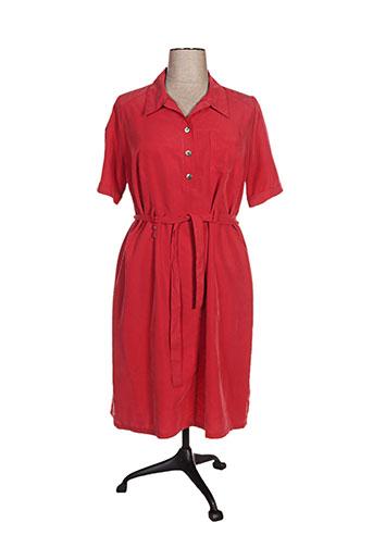 jean gabriel robes femme de couleur rouge
